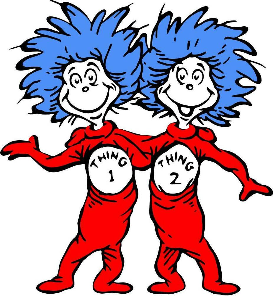 thing 1 thing 2 stickers ebay dr seuss thing 1 thing 2 decal removable wall sticker home decor art kids cat