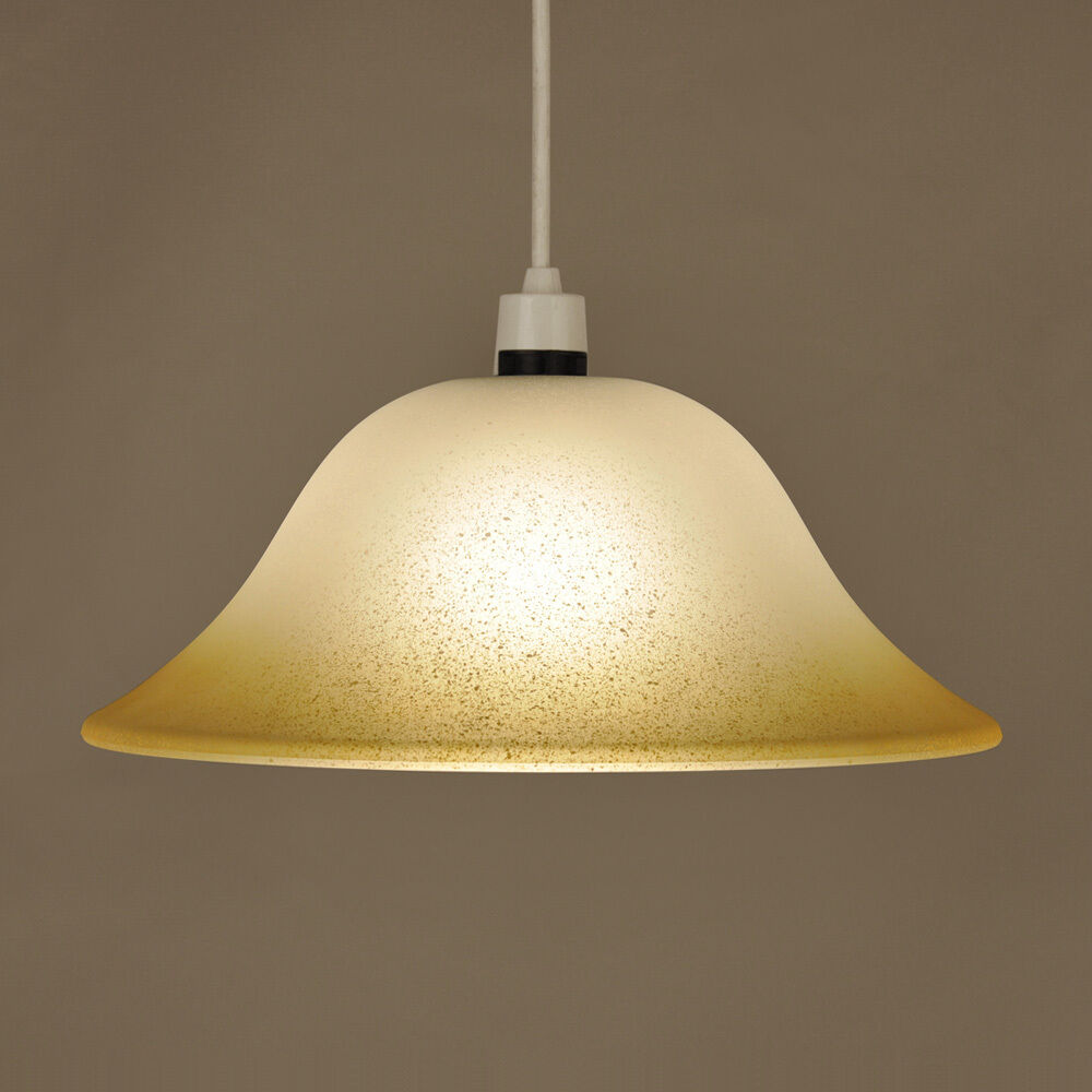 Modern frosted glass ceiling pendant light lamp shade - Clear glass ceiling light ...