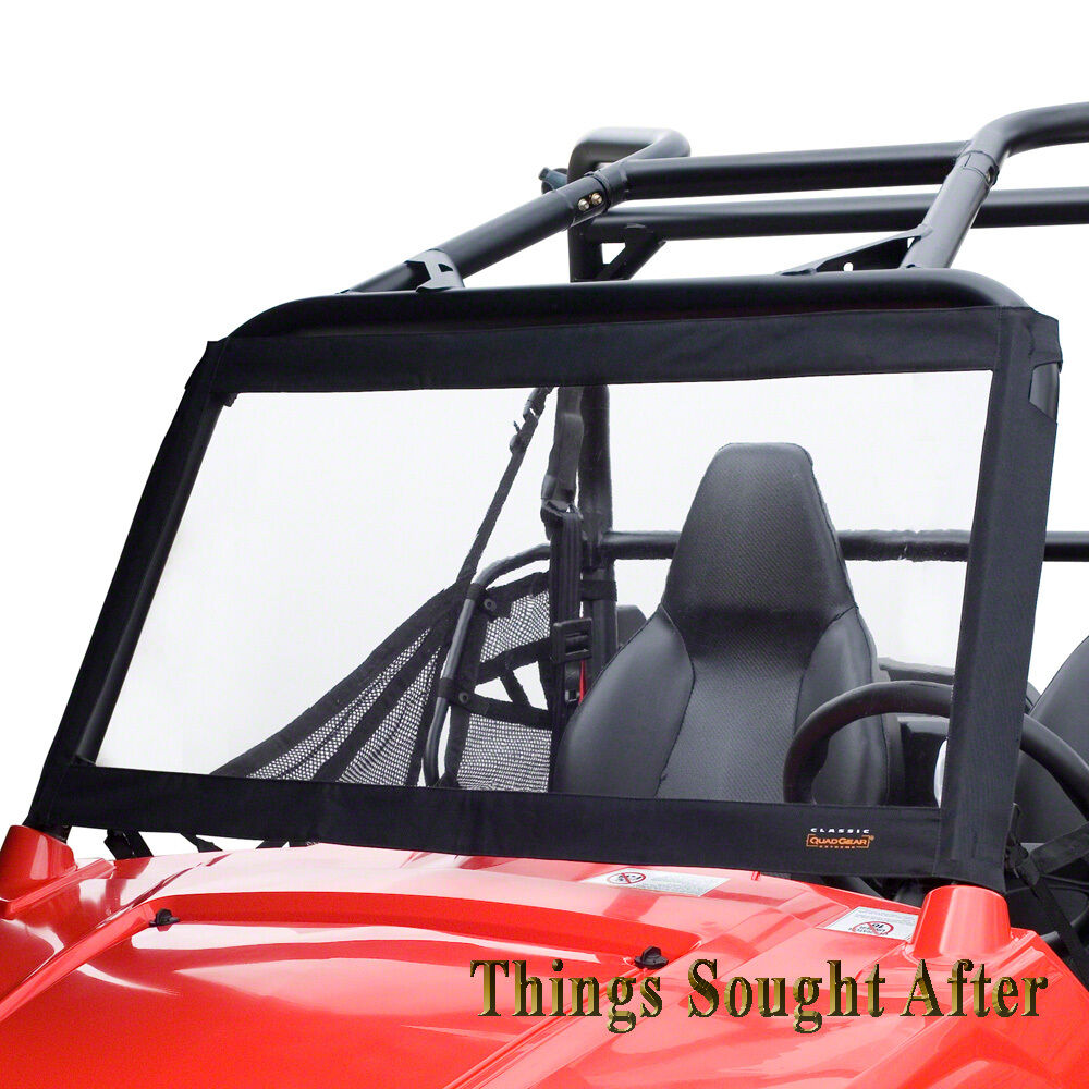 front windshield for 2011 polaris rzr rzr4 570 800 900 xp le razor rzrs 4 s ebay. Black Bedroom Furniture Sets. Home Design Ideas
