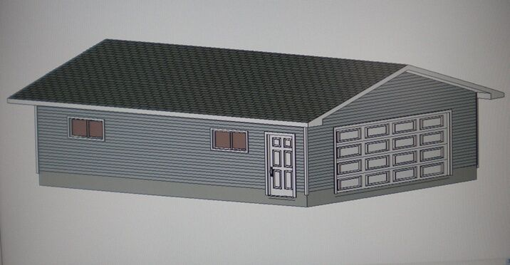 24 39 X 32 39 Garage Shop Plans Materials List Blueprints