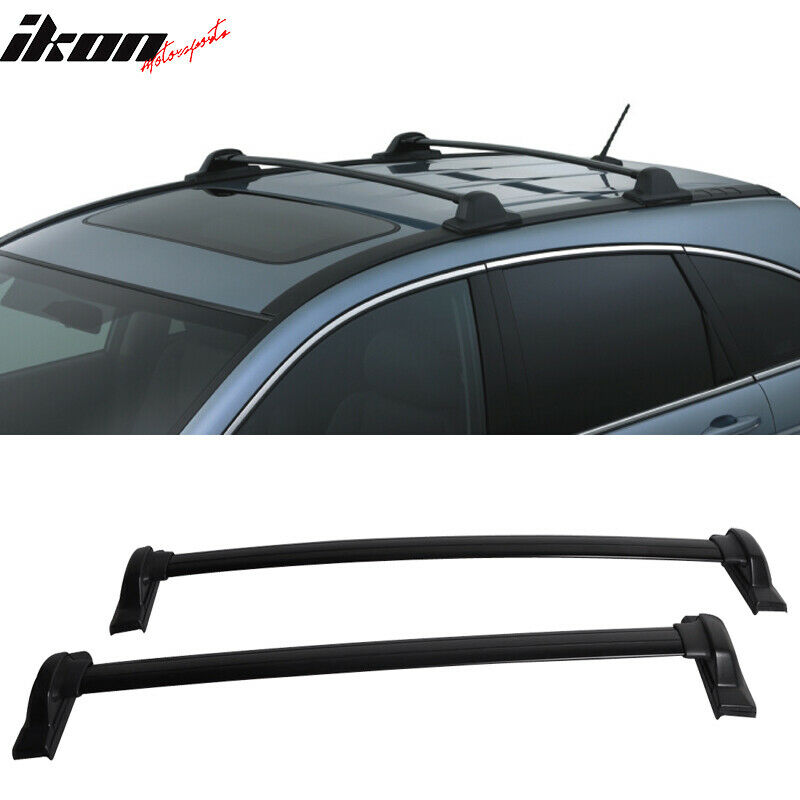 07 11 Honda Crv Cr V Oe Factory Style Black Top Roof Rack Cross Bar Ebay