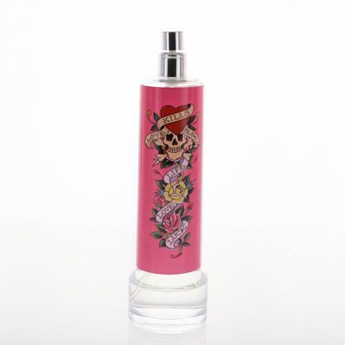 Ed Hardy Perfume For Women By Christian Audigier: ED HARDY By Christian Audigier 3.4 Oz EDP Spray NEW Tester For Women