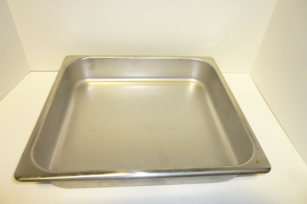 Steam Table Pan 2 3 Size 2 New Heavy Duty Stainless