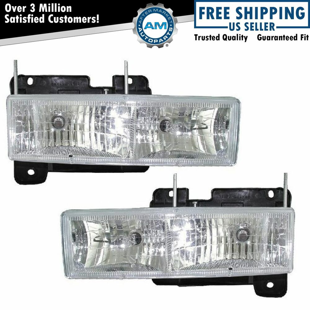 Diamond Performance Headlight Lamp Pair Set Of 2 For