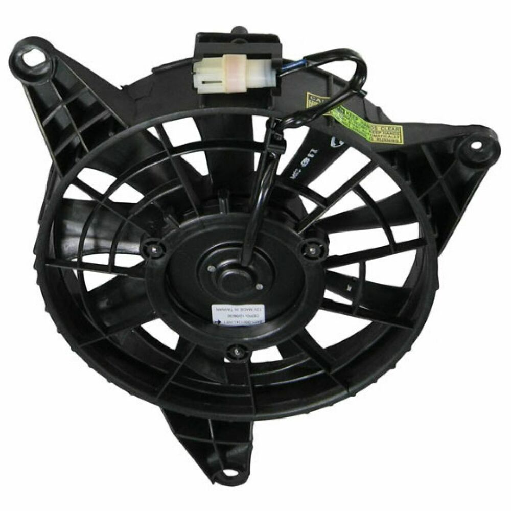 Ac a c condenser radiator cooling fan assembly w motor for Radiator fan motor price