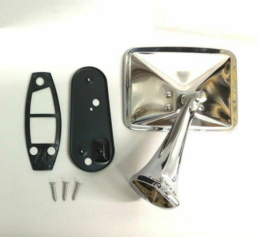 70 71 72 Chevy Truck Square Rectangle Chrome Outside