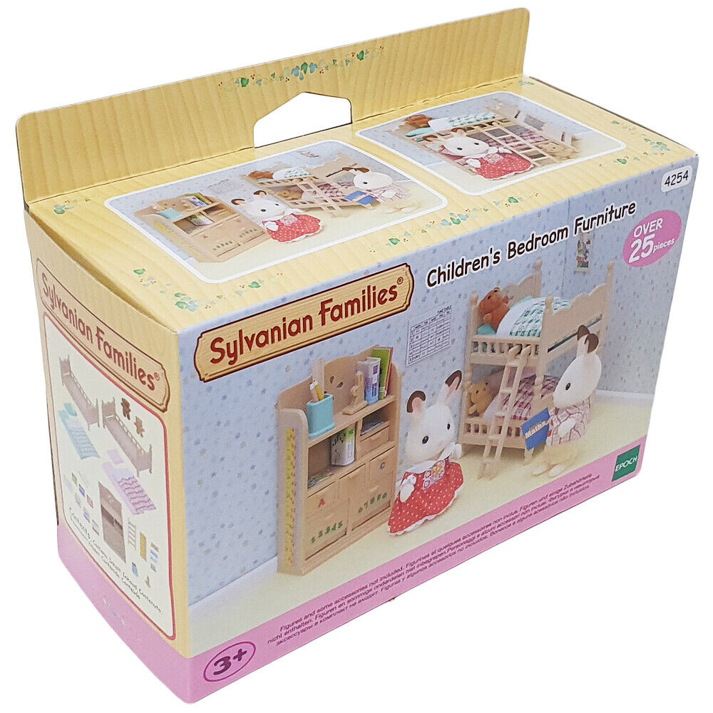 Sylvanian families children 39 s bedroom furniture ebay Master bedroom set sylvanian