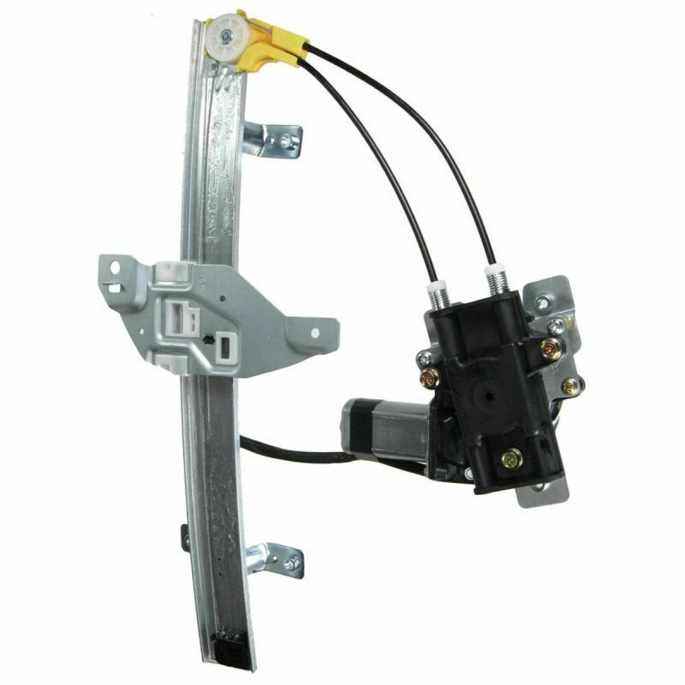 Power window regulator w motor rear rh passenger side for Window motor and regulator cost