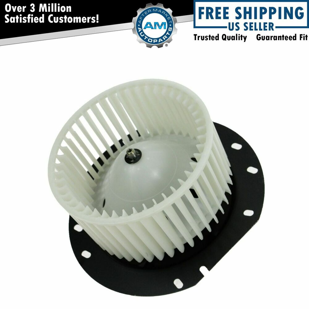 A/C Heater Blower Motor w/ Fan Cage for 97-13 Ford E350 ...
