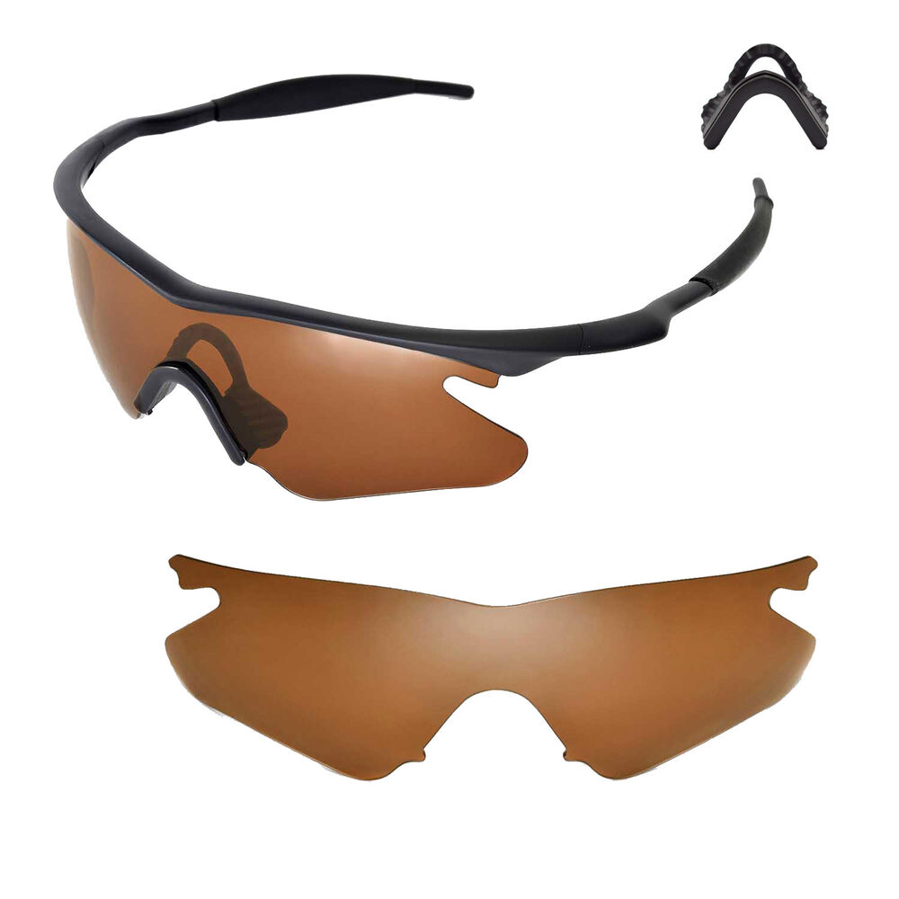 New Wl Polarized Brown Sunglasses Lenses For Oakley M