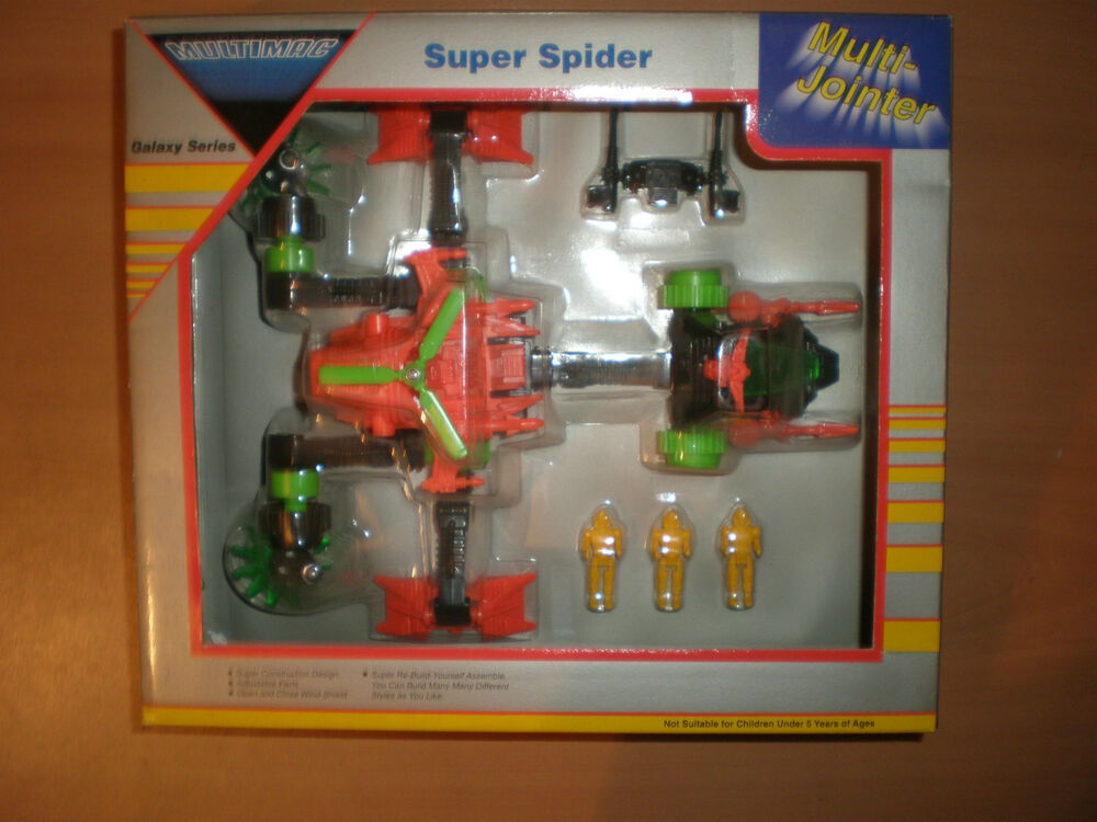 Vintage silverlit toys galaxy multimac super spider for Galaxy toys