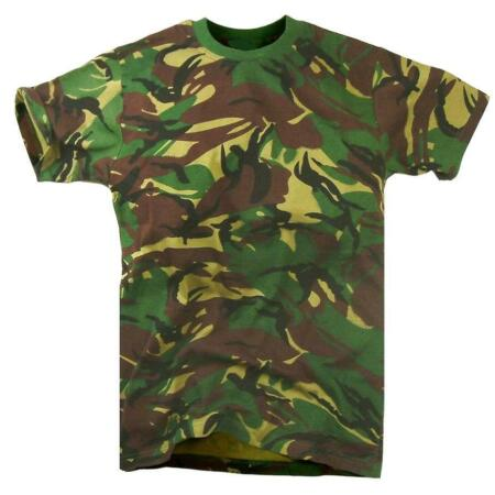 img-GENTS CAMOUFLAGE COTTON T-SHIRT Mens all sizes military soldier top army camo