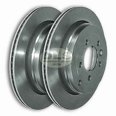 Land Rover Rear Brake Rotor Disc Set Range Discovery I: LAND ROVER DISCOVERY 3 2.7TdV6 Diesel