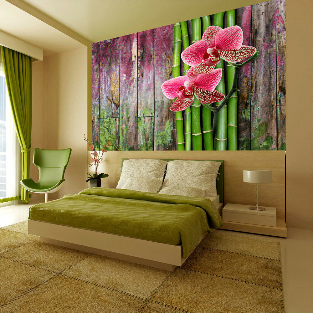 fototapete blumen vlies tapete holz optik wandbilder xxl. Black Bedroom Furniture Sets. Home Design Ideas