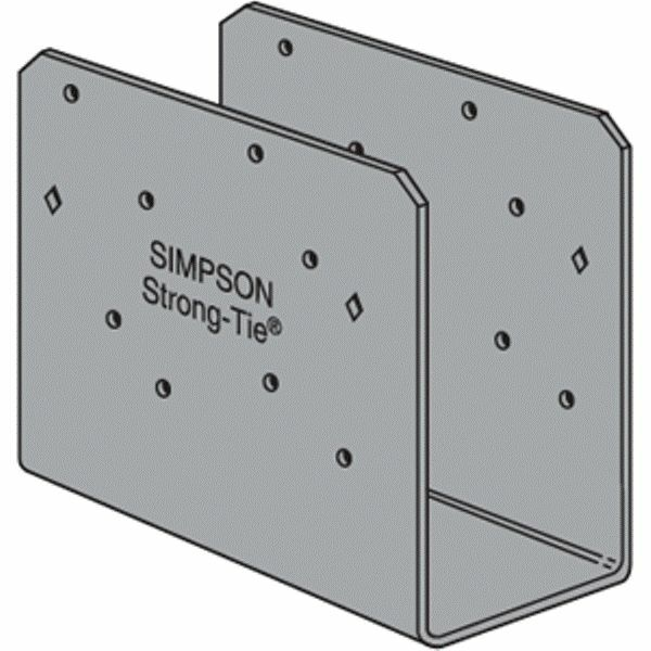 Simpson Strong Tie Ccoq6 Sds2 5 6x Column Cap With Screws