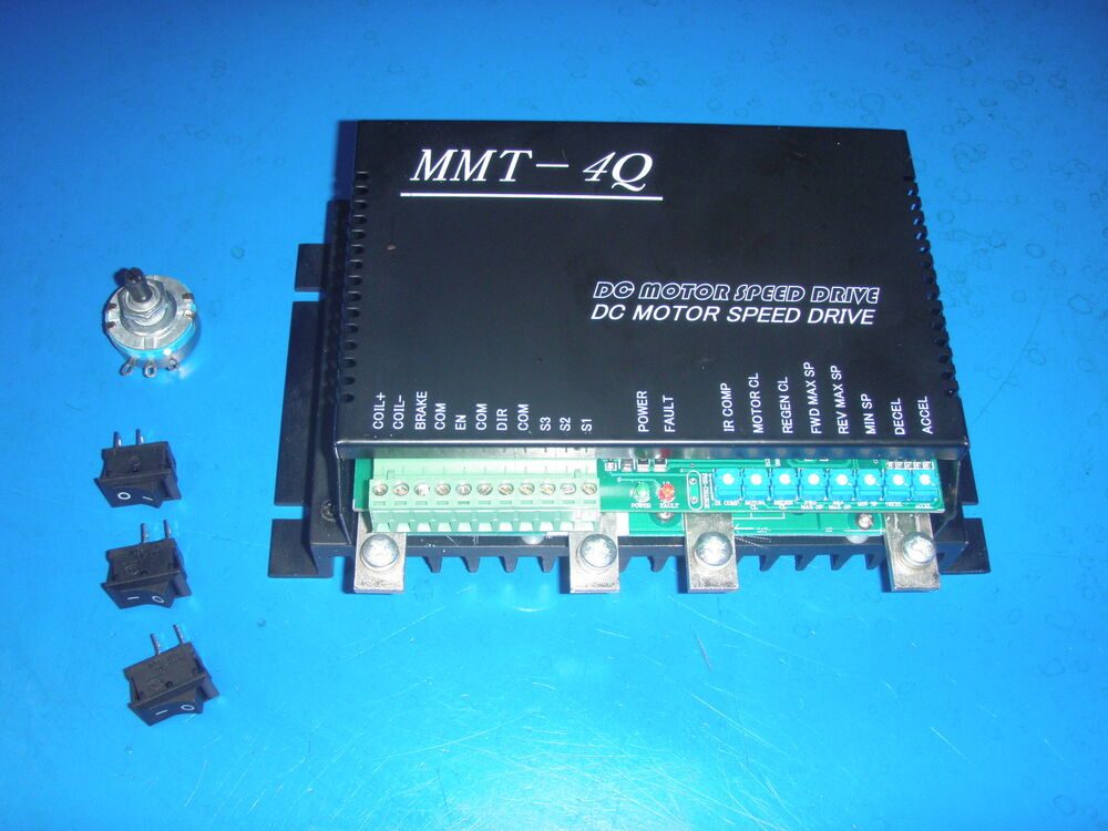 Dc Motor Speed Controller 12 Volt 100 Amp With