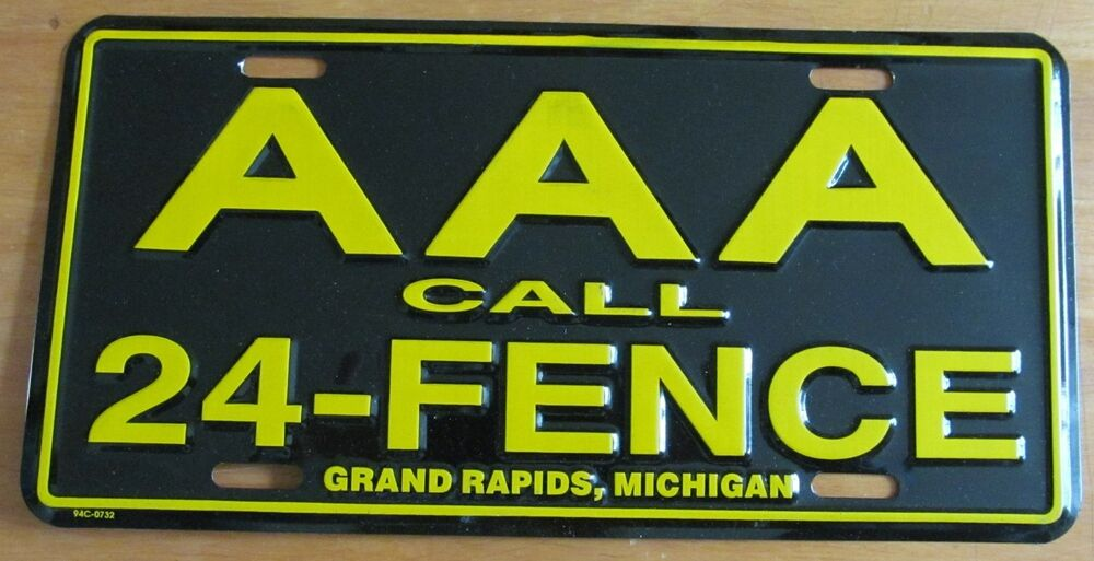 Michigan 1980 S Grand Rapids Aaa Call 24 Fence Booster