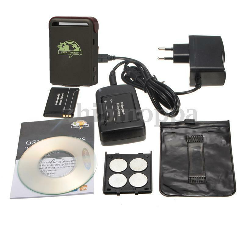 Spy Mini Vehicle Realtime Tracker For GSM GPRS GPS System