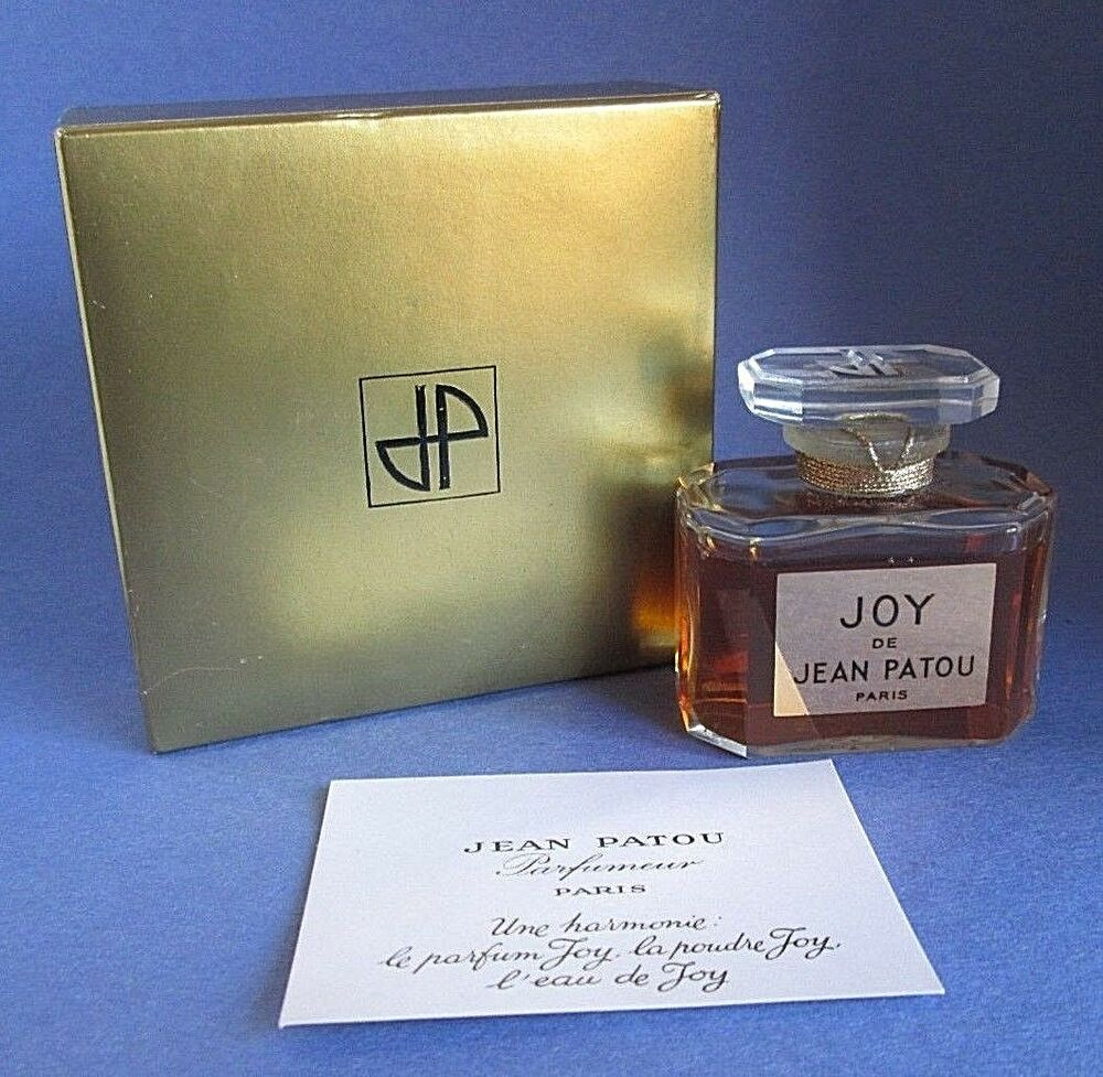 Joy Jean Patou Paris Vintage Pure Perfume 1 Oz 30 Ml Made
