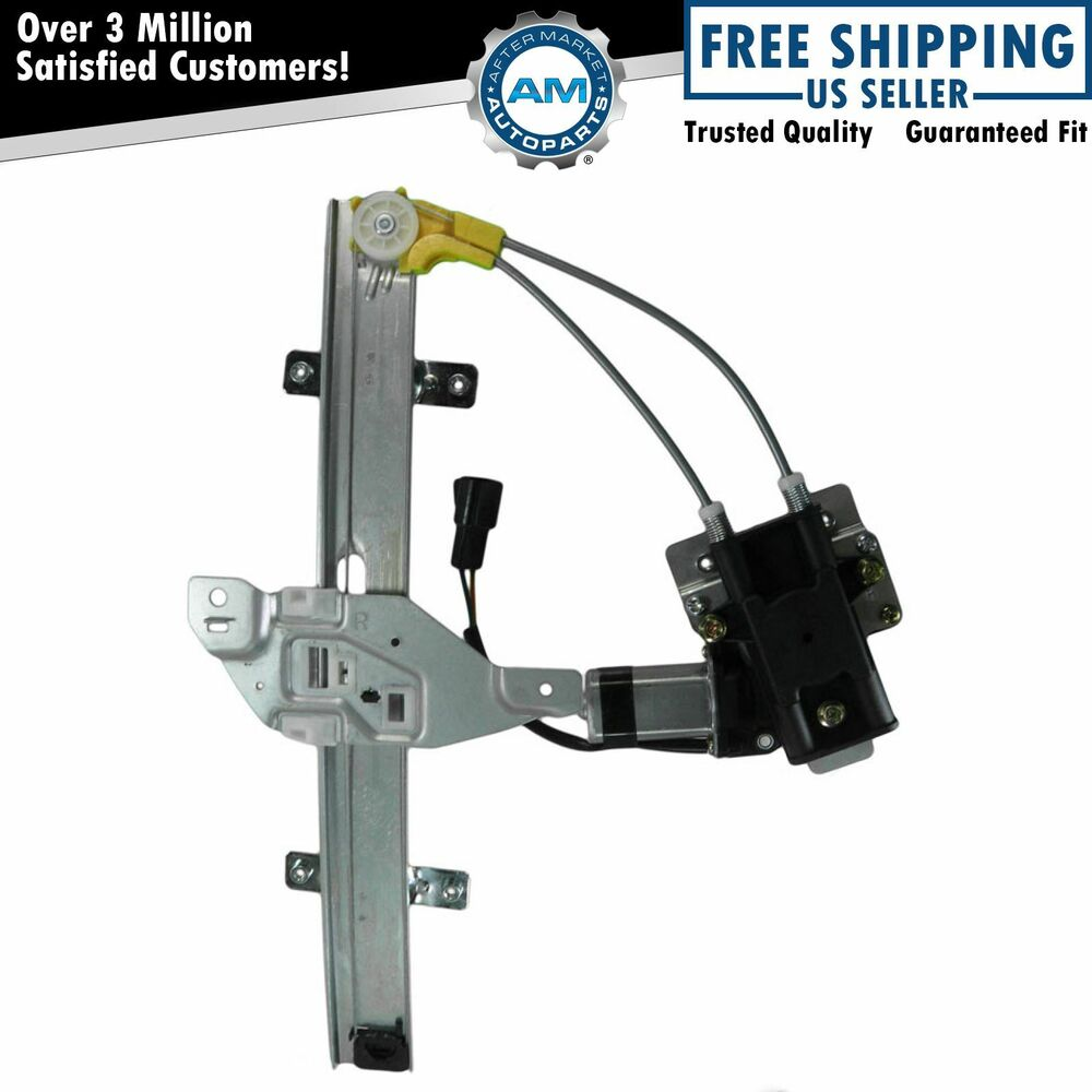 Power window regulator w motor rear right rh passenger for 1999 pontiac grand am window regulator