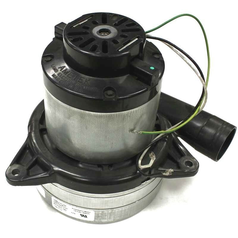 New genuine ametek lamb 3 stage central vacuum motor for Tangential bypass motor central vacuum