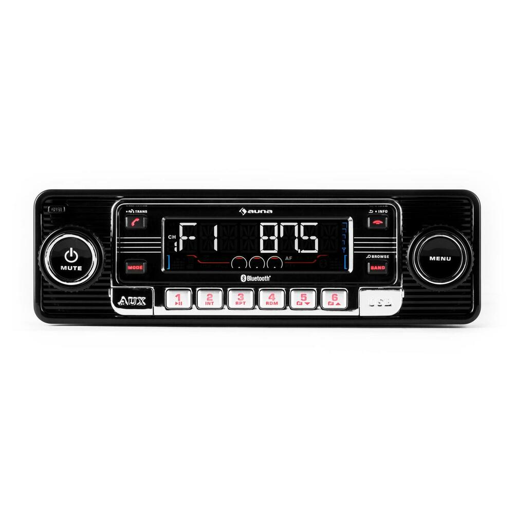 classic car retro autoradio oldtimer youngtimer usb sd mp3. Black Bedroom Furniture Sets. Home Design Ideas