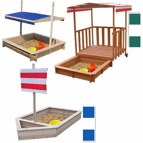 sandkasten holz spielhaus sandbox sandkiste buddelkiste holzsandkiste mit deckel ebay. Black Bedroom Furniture Sets. Home Design Ideas