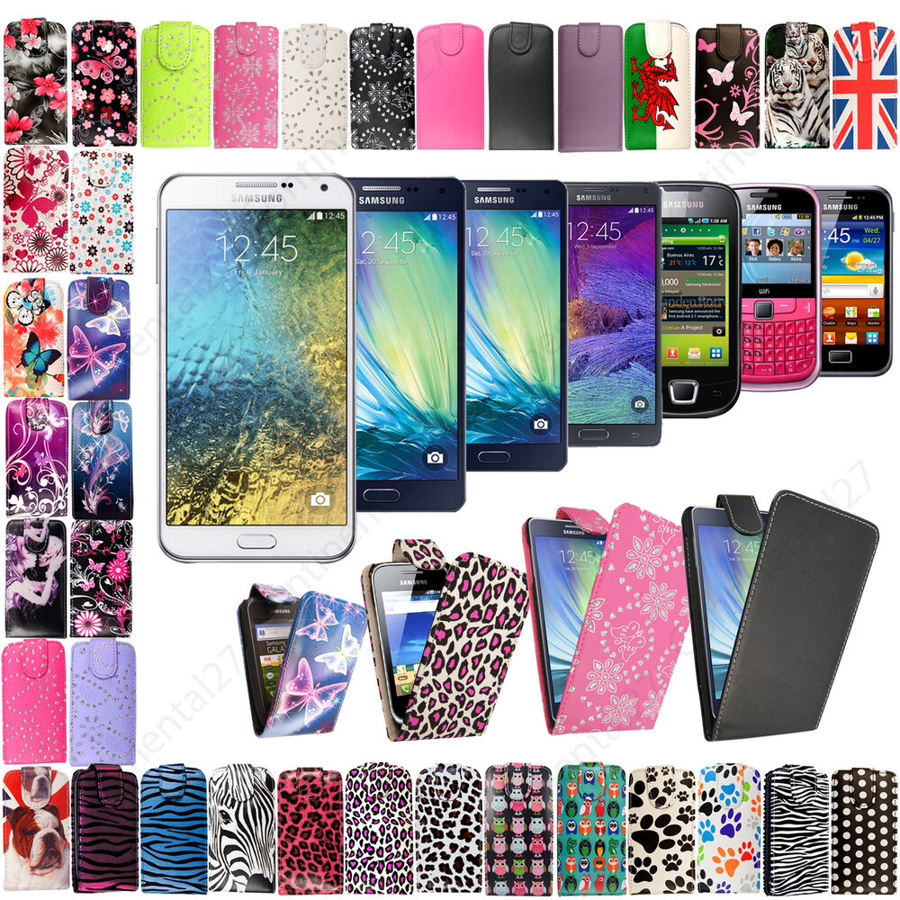 New stylish printed pu leather flip case cover for various for Mobel stylisch
