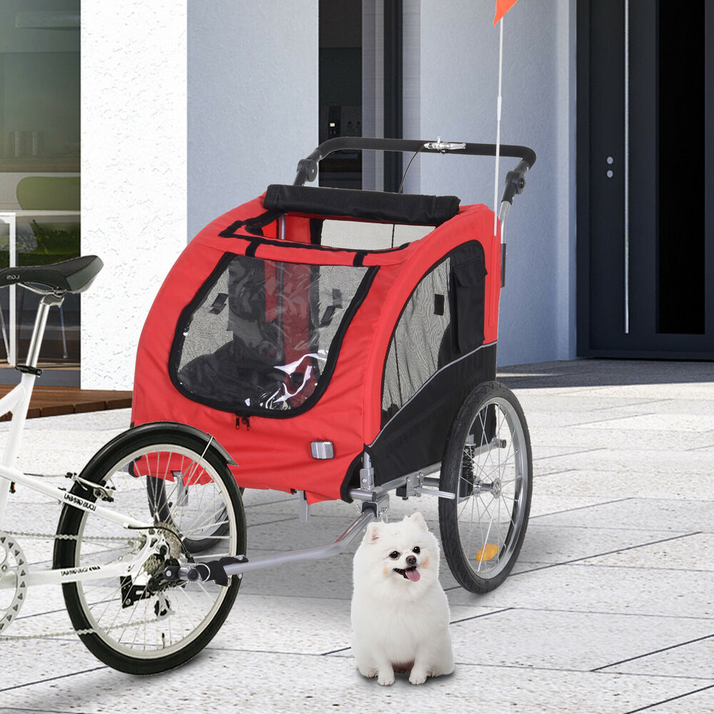 pet trailer dog cat bike bicycle trailer carrier supplies. Black Bedroom Furniture Sets. Home Design Ideas