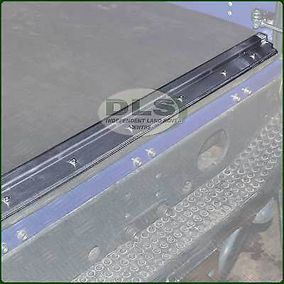 Land Rover Defender Stainless Steel Rear Load Mat