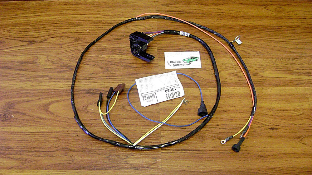 Engine Wiring Harness Made In Usa 68  Warning
