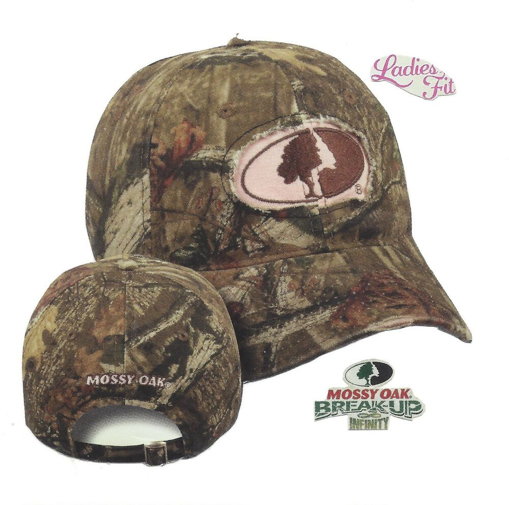 Ladies Mossy Oak Infinity Camo Camouflage W Embroidered