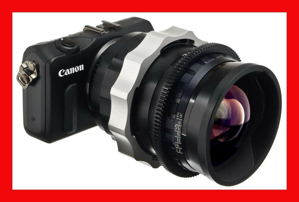 pro adapter canon ef m mount m2 m3 bncr mitchell lens angenieux k35 cooke ebay. Black Bedroom Furniture Sets. Home Design Ideas