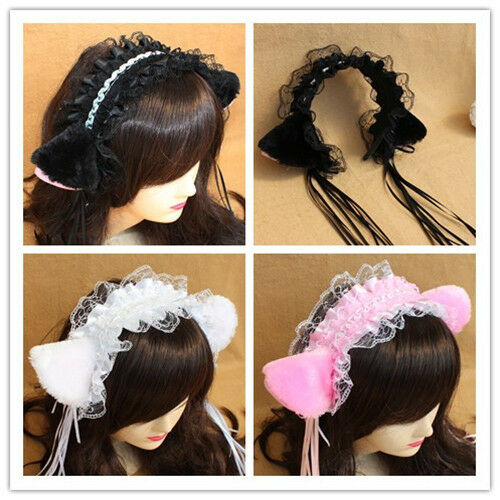 Cat Ears Halloween Accessories. Beauty. Hair Care. Styling Accessories. Cute Vivid Cat Ears HeadBand Hair Band for Girls Women Festival Party Cosplay, Leopard & Black. Product Image. Items sold by bookbestnj.cf that are marked eligible on the product and checkout page with the logo ;.