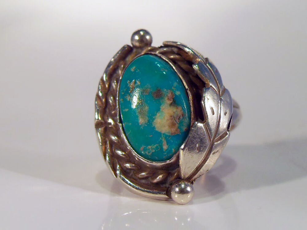 Ebay Old Pawn Turquoise Rings