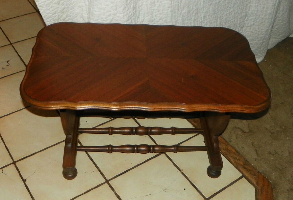 Walnut Book Matched Veneer Coffee Table Rp Ct70 Ebay