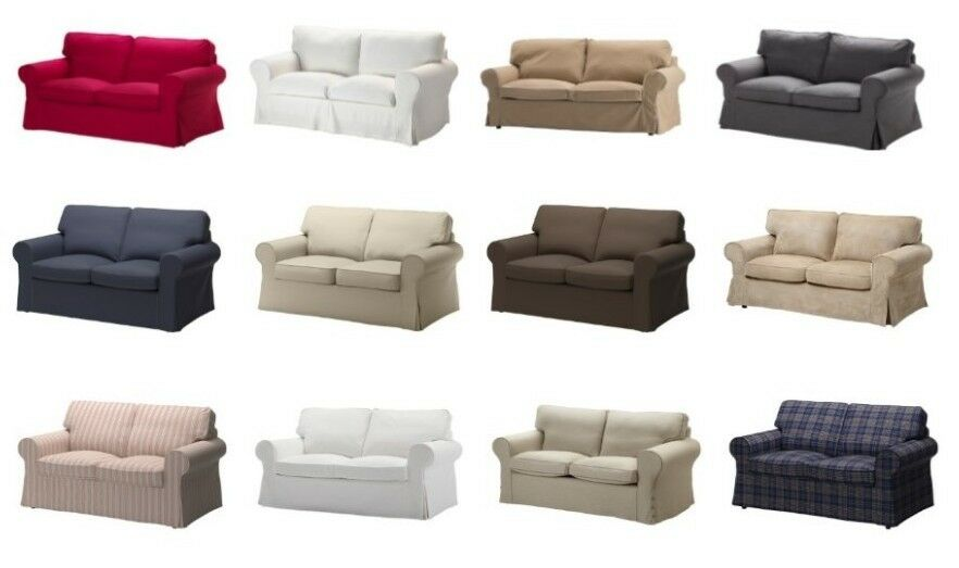 ikea ektorp loveseat cover different colors ebay. Black Bedroom Furniture Sets. Home Design Ideas