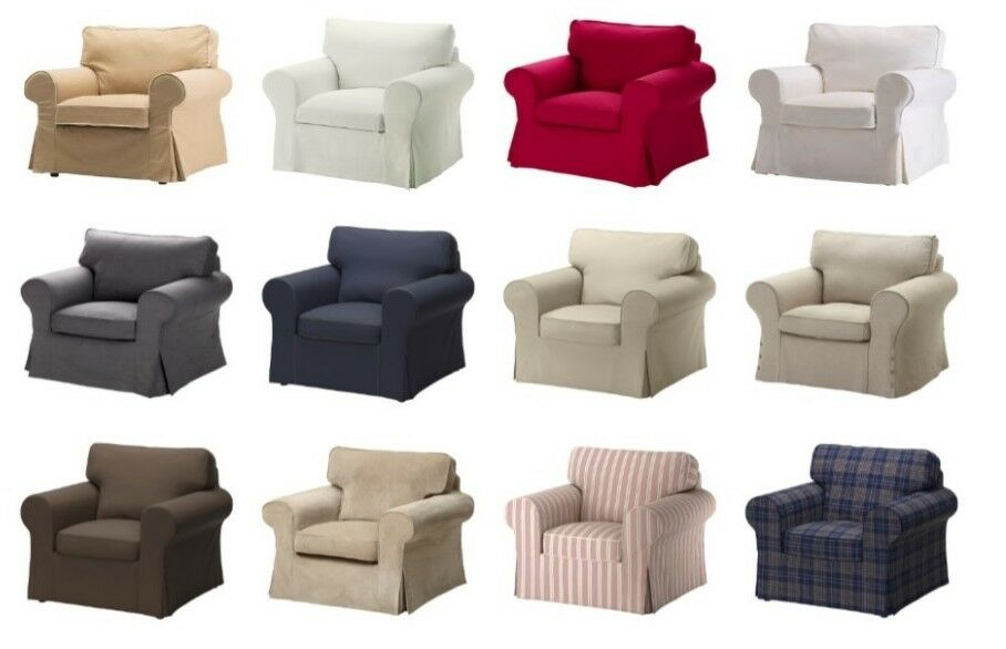 ikea ektorp chair cover different colors ebay. Black Bedroom Furniture Sets. Home Design Ideas
