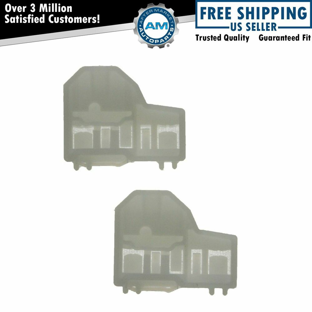 Window channel guides clip pair set front right for alero for 2000 grand am window regulator
