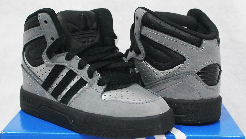 f8172c98360f Details about ADIDAS ORIGINALS COURT ATTITUDE BABY TODDLER KIDS BOYS SHOES  US 4 5 6 7 8 9   10