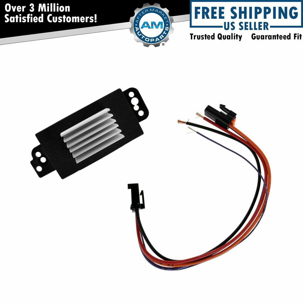 Heater blower motor resistor atc for buick chevy silverado for 2007 chevy silverado blower motor