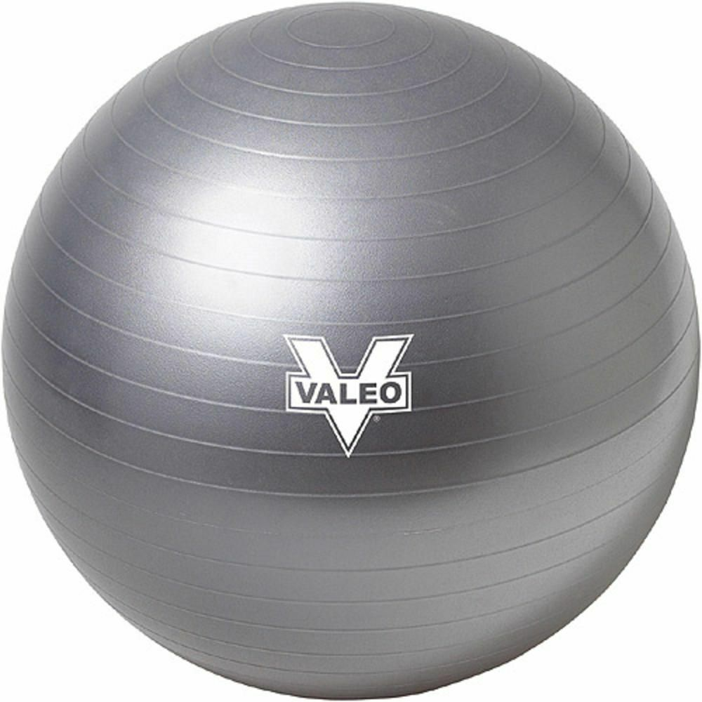 Exercise Ball 75cm Anti Burst: Valeo Burst Resistant BODY BALL 75cm FITNESS STABILITY