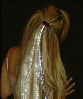 Glowbys Light Up Fiber Optic Hair Extensions Birthday Party Favor Gift Bag