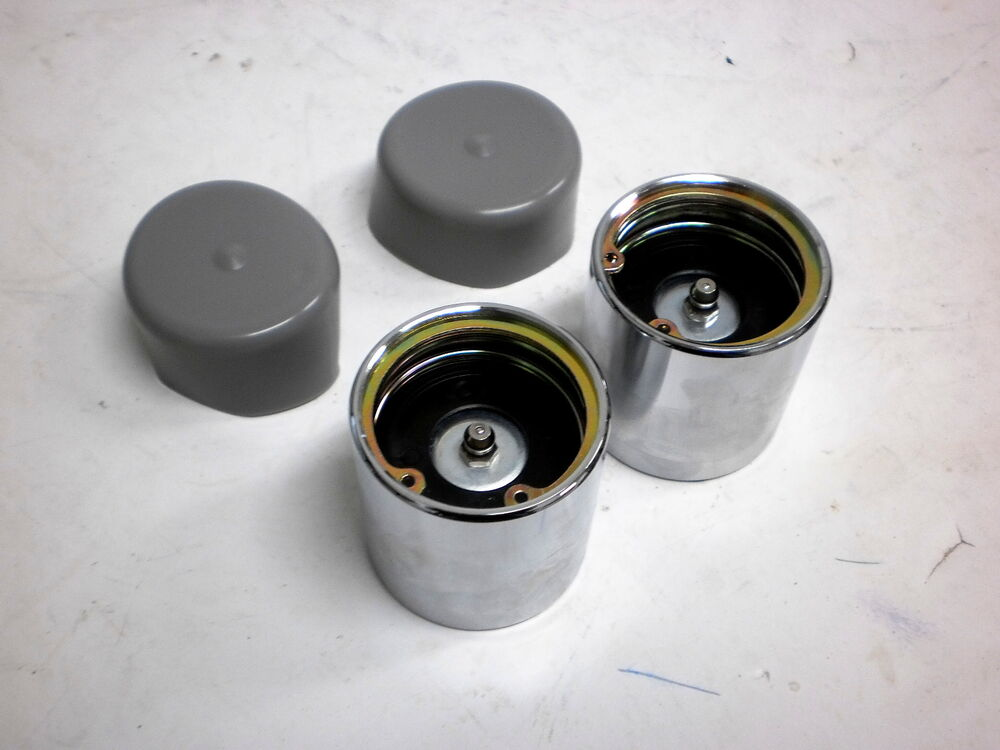 Boat Trailer Grease Cap : Two bearing protectors grease wheel hub trailer axle