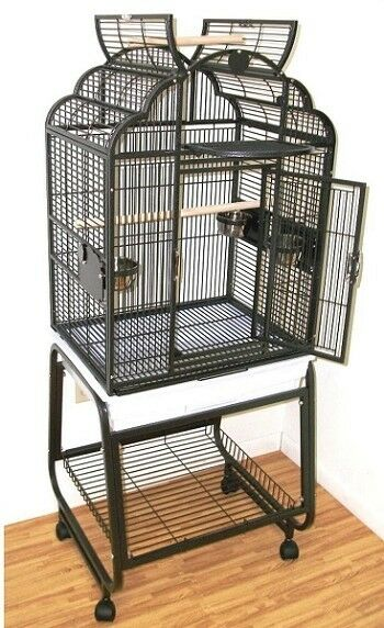 Hq Parrot Bird Cages Ga92217 C Victorian Top22x17 With