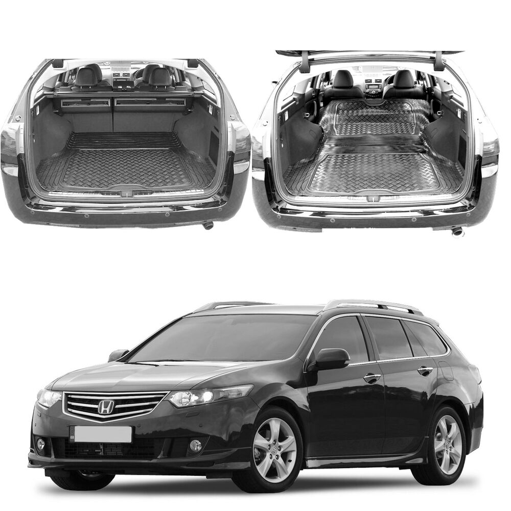 honda accord tourer estate rubber boot cover load liner dog mat bumper guard ebay