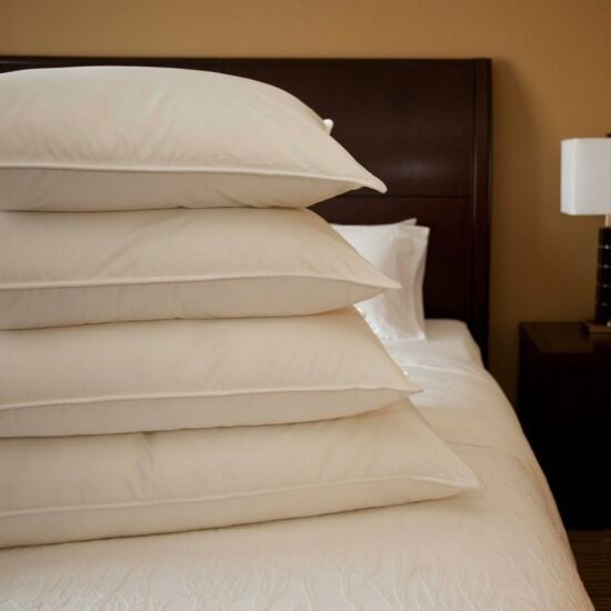 Downlite Hotel Luxurious Pillow White Goose Or Duck Down