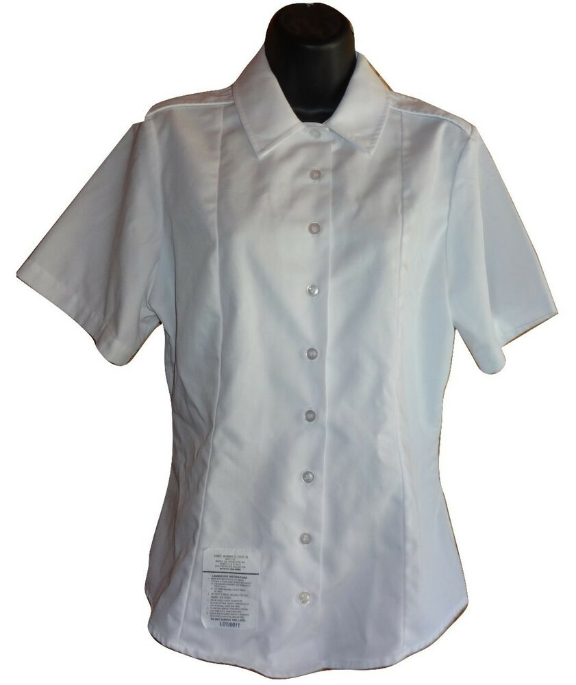 Us Army Women 039 S Asu Uniform White Shirt Blouse Long