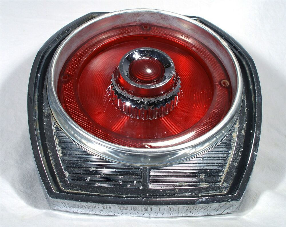 Newer Vehicle Tail Light Lenses : Oem ford custom afd automobile auto car tail