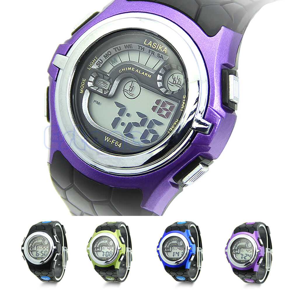 multi function cool sports led analog digital